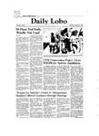 New Mexico Daily Lobo, Volume 086, No 7, 8/31/1981