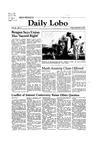 New Mexico Daily Lobo, Volume 086, No 11, 9/4/1981