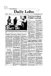 New Mexico Daily Lobo, Volume 086, No 17, 9/15/1981