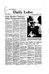 New Mexico Daily Lobo, Volume 086, No 18, 9/16/1981