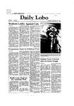 New Mexico Daily Lobo, Volume 086, No 26, 9/28/1981