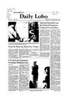 New Mexico Daily Lobo, Volume 086, No 28, 9/30/1981