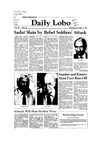 New Mexico Daily Lobo, Volume 086, No 33, 10/7/1981