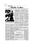New Mexico Daily Lobo, Volume 086, No 34, 10/8/1981