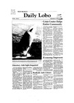 New Mexico Daily Lobo, Volume 086, No 38, 10/14/1981