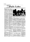New Mexico Daily Lobo, Volume 086, No 39, 10/15/1981