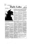New Mexico Daily Lobo, Volume 086, No 40, 10/16/1981