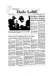 New Mexico Daily Lobo, Volume 086, No 46, 10/26/1981