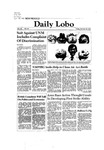 New Mexico Daily Lobo, Volume 086, No 50, 10/30/1981