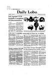 New Mexico Daily Lobo, Volume 086, No 50, 10/30/1981