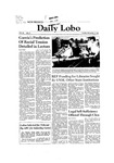 New Mexico Daily Lobo, Volume 086, No 52, 11/3/1981