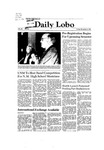 New Mexico Daily Lobo, Volume 086, No 55, 11/6/1981