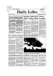 New Mexico Daily Lobo, Volume 086, No 56, 11/9/1981