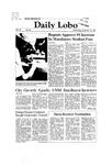 New Mexico Daily Lobo, Volume 086, No 63, 11/18/1981