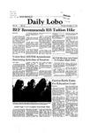 New Mexico Daily Lobo, Volume 086, No 64, 11/19/1981