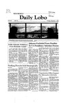 New Mexico Daily Lobo, Volume 086, No 69, 12/1/1981