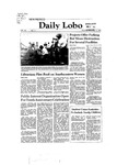 New Mexico Daily Lobo, Volume 086, No 71, 12/3/1981