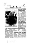 New Mexico Daily Lobo, Volume 086, No 74, 12/14/1981