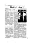New Mexico Daily Lobo, Volume 086, No 82, 1/26/1982