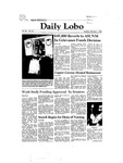 New Mexico Daily Lobo, Volume 086, No 86, 2/1/1982