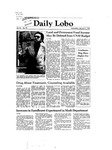 New Mexico Daily Lobo, Volume 086, No 88, 2/3/1982