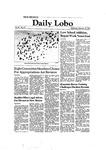 New Mexico Daily Lobo, Volume 086, No 93, 2/10/1982