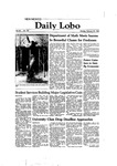 New Mexico Daily Lobo, Volume 086, No 101, 2/22/1982 by University of New Mexico