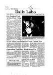 New Mexico Daily Lobo, Volume 086, No 104, 2/25/1982 by University of New Mexico