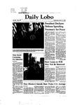 New Mexico Daily Lobo, Volume 086, No 108, 3/3/1982 by University of New Mexico