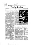 New Mexico Daily Lobo, Volume 086, No 111, 3/8/1982 by University of New Mexico