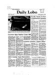 New Mexico Daily Lobo, Volume 086, No 112, 3/9/1982 by University of New Mexico