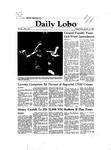 New Mexico Daily Lobo, Volume 086, No 113, 3/10/1982 by University of New Mexico