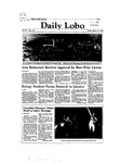 New Mexico Daily Lobo, Volume 086, No 115, 3/12/1982 by University of New Mexico