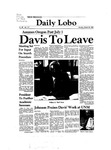New Mexico Daily Lobo, Volume 086, No 116, 3/22/1982 by University of New Mexico