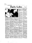 New Mexico Daily Lobo, Volume 086, No 120, 3/26/1982 by University of New Mexico