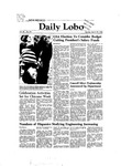 New Mexico Daily Lobo, Volume 086, No 121, 3/29/1982 by University of New Mexico
