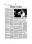 New Mexico Daily Lobo, Volume 086, No 122, 3/30/1982 by University of New Mexico