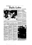 New Mexico Daily Lobo, Volume 086, No 145, 4/30/1982