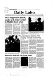 New Mexico Daily Lobo, Volume 086, No 150, 6/17/1982
