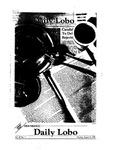 New Mexico Daily Lobo, Volume 087, No 1, 8/16/1982