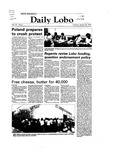 New Mexico Daily Lobo, Volume 087, No 3, 8/24/1982