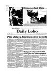New Mexico Daily Lobo, Volume 087, No 4, 8/25/1982
