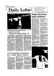 New Mexico Daily Lobo, Volume 087, No 12, 9/7/1982