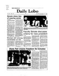 New Mexico Daily Lobo, Volume 087, No 19, 9/16/1982