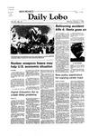 New Mexico Daily Lobo, Volume 087, No 31, 10/4/1982