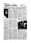 New Mexico Daily Lobo, Volume 087, No 33, 10/6/1982