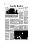 New Mexico Daily Lobo, Volume 087, No 35, 10/8/1982