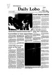 New Mexico Daily Lobo, Volume 087, No 37, 10/12/1982
