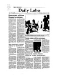 New Mexico Daily Lobo, Volume 087, No 39, 10/14/1982