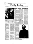 New Mexico Daily Lobo, Volume 087, No 44, 10/21/1982